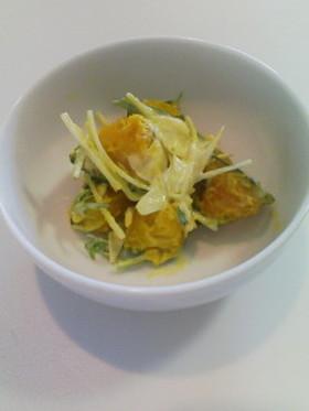 我が家の簡単手抜き★かぼちゃサラダ