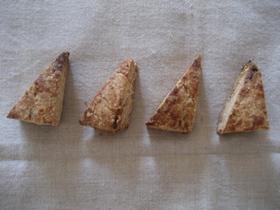 ピーナッツバタースコーン☆ホシノ天然酵母