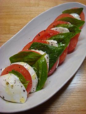 トマトとモッツレラのカプレーゼ