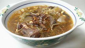 圧力鍋deクイック韓国風テールスープ