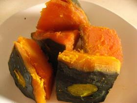 甘いかぼちゃの煮物