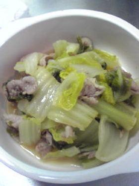 ☆白菜と豚肉の簡単煮☆