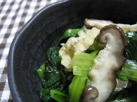 ★小松菜の煮びたし★
