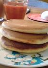フワフワでゴメンね☆我が家のホットケーキ