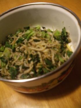 セロリの葉の塩佃煮
