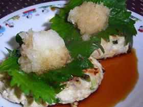 簡単★材料二つ!鶏ひき肉&豆腐ハンバーグ