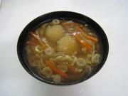 男爵芋のだんご汁の写真
