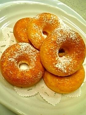 ホットケーキミックスで作るベイクドーナツ