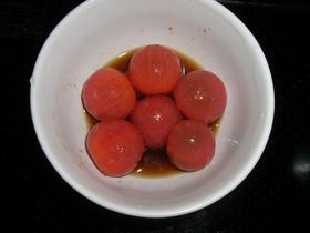 ミニトマトのポン酢マリネ