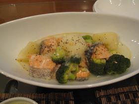 鮭・じゃが芋のあっさり煮~塩味~