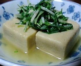 おでんの残り汁で高野豆腐♪