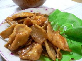 鶏ムネ肉と干し大根の甘辛炒め