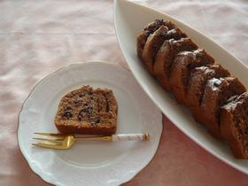 ふわっサクッ♪簡単チョコパウンドケーキ