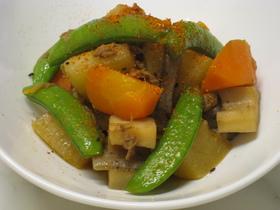 ツナと根野菜の煮物