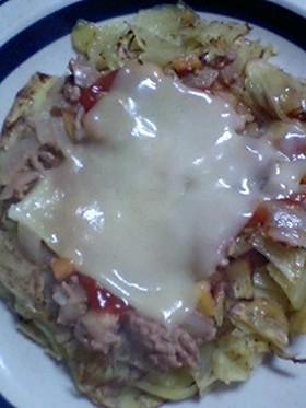超簡単!フライパン1つでポテトピザ☆