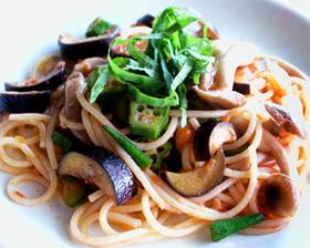 夏野菜スパゲティー