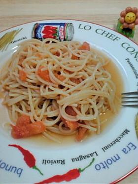 今日は冷製☆フレッシュトマトスパゲッティ