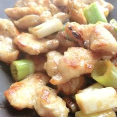 鶏むね肉のポン酢炒め