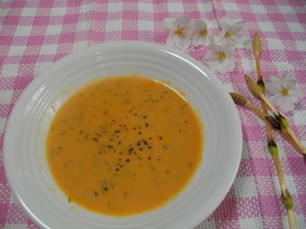 春色にんじんスープ