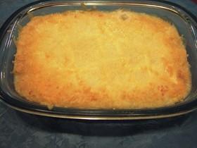 長芋と豆腐のグラタン