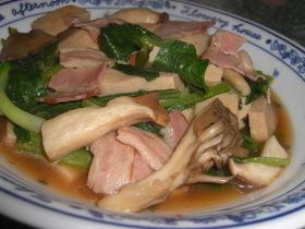 高野豆腐と野菜のピリ辛