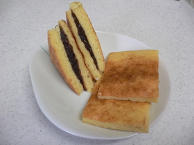 朝食にも!トースターで簡単ホットケーキ