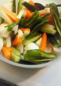 母直伝☆すし酢で野菜の酢漬け