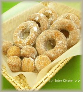 ホットケーキミックスで簡単♪ドーナツ