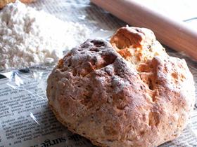 ホットケーキミックスで簡単ハードパン