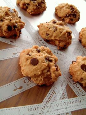 我家定番~チョコチップクッキー♪