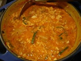 スントゥブチゲ(豆腐チゲ)