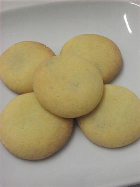 米粉と生キャラメルのさくさくクッキー。