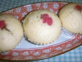 桜の蒸しパン