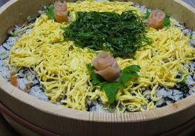 残ったひじきの煮物が変身ひじきちらし寿司