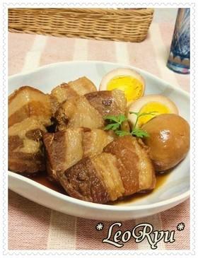 簡単★豚角の焼酎煮