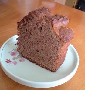 シンプル☆ココアのパウンドケーキ