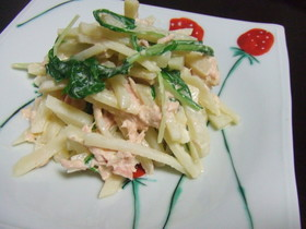 簡単シャキッとポテトサラダ☆柚子胡椒風味