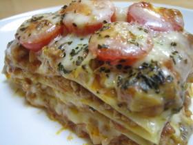 ラザニア〰明治十勝チーズ〰