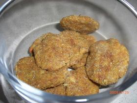 ワンコのクッキー ジュースの搾りかす利用