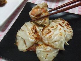 食べてビックリ!?えび&チーズ餃子.*゜