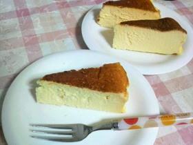 簡単!混ぜるだけ♪美味しいチーズケーキ★