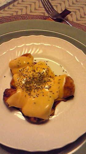 鶏肉の簡単イタリアンチーズ焼き