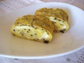 お弁当・朝食に♡塩昆布とチーズの卵焼き