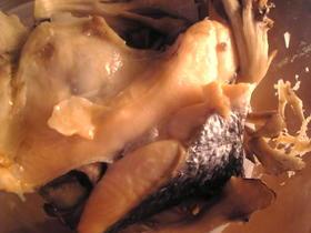 塩鮭と舞茸のバター蒸し