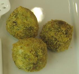 ☆ブロッコリーと里芋のグリーンコロッケ☆