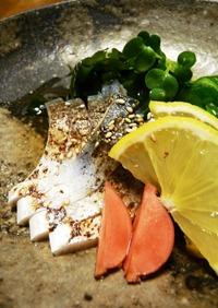 炙り焼しめ鯖の酢の物