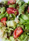 サニーレタスとミニトマトのサラダ風ナムル