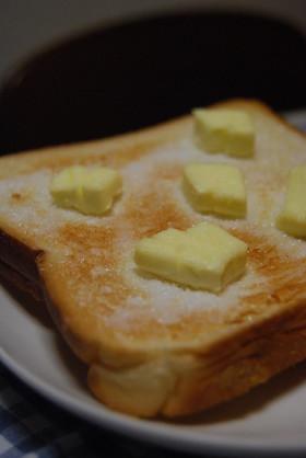 クリームチーズのシュガートースト