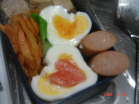 LOVEな~ゆで卵☆