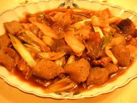 トロトロ牛スジの甘辛煮